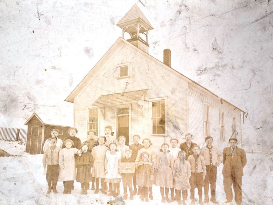 Autlman School House Class of 1910