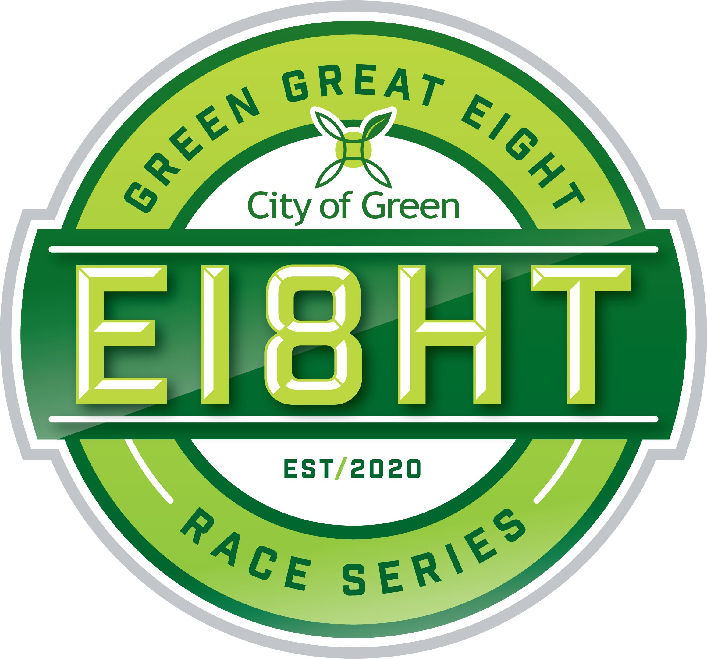 Green Great Eight Race Series Logo