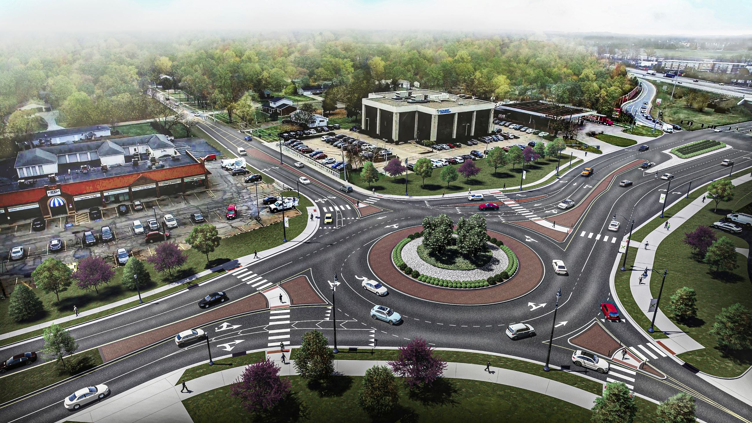 Raber Roundabout Final Rendering