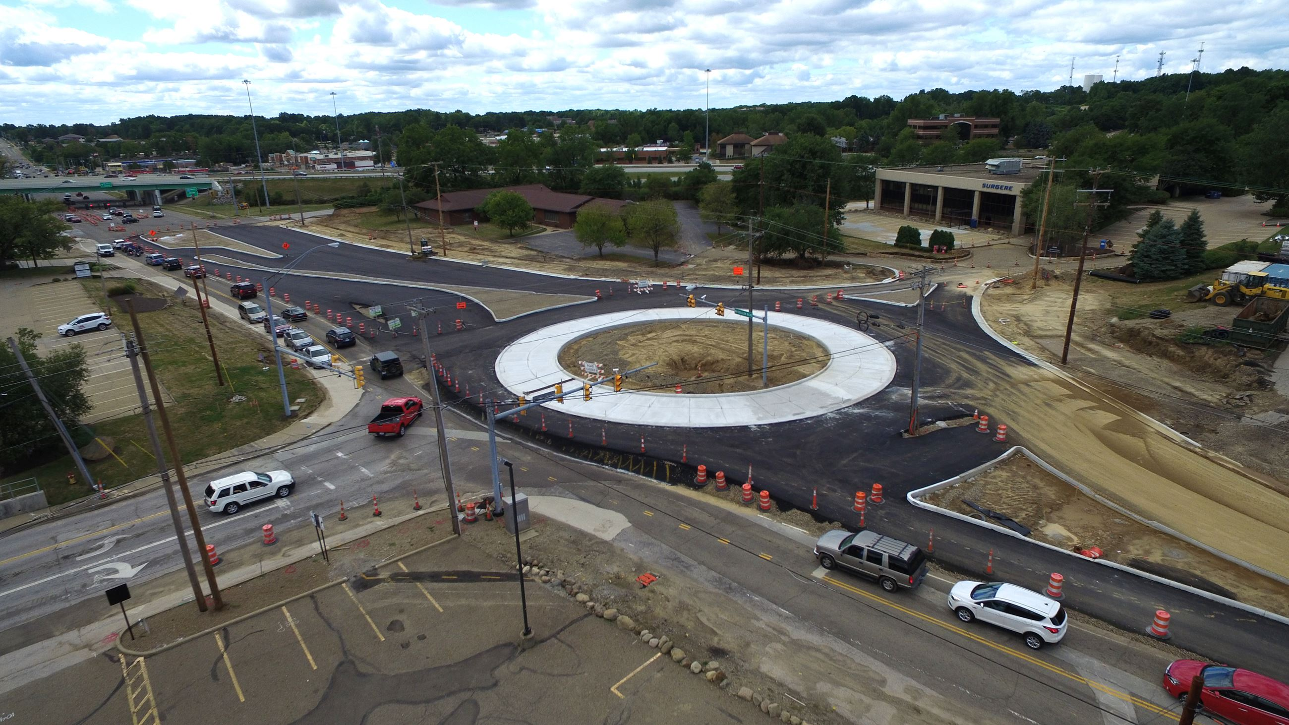 Raber Road Roundabout